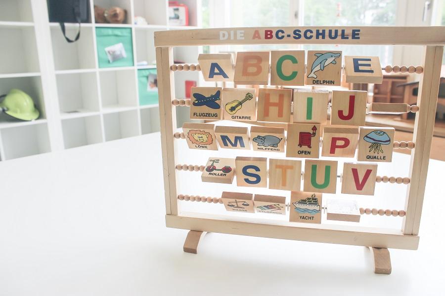 Buchstabentafel